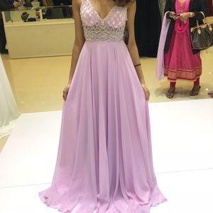Lilac/ light pink prom dress!!